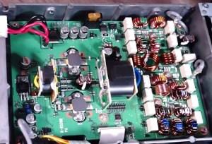 The new IC7300 DirectSampling SDR HF6m Transceiver