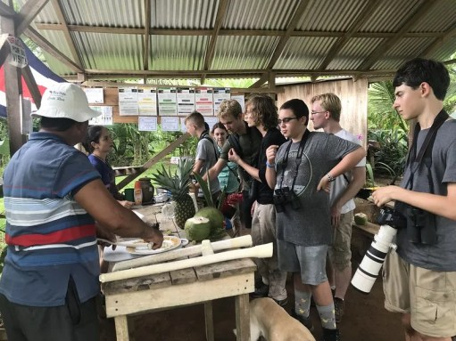 Kids at Coconut stand CRC2019