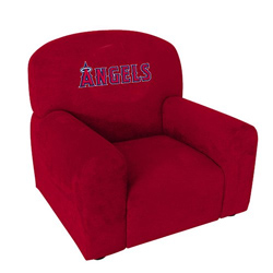 kids arm chairs aeron chair stool conversion mlb kid s upholstered ababy com l a angels
