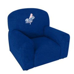 Kids Arm Chairs Sofa And Chair Set Mlb Kid S Upholstered Ababy Com L A Dodgers Click