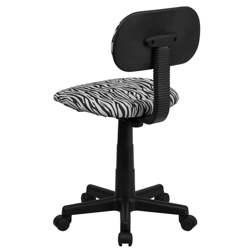 Zebra Desk Chair Desk Chairs aBabycom BlackWhite