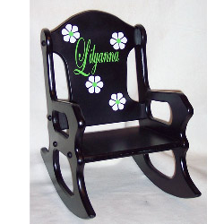 personalized kids chair dining store child chairs custom toddler with name