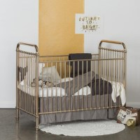 Designer Metallic Crib Classic Cribs - aBaby.com
