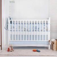 Nevo Organic Crib Bedding Set Crib Bedding For Boys ...