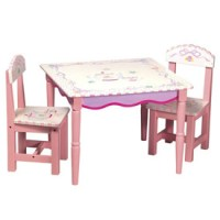 Fancy Tea Party Table And Chair Set by Guidecraft usa