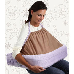 Twin Nursing Pillow by Double Blessings