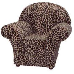 Giraffe Print Chair Hanging Zone Child S Animal