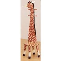 Giraffe Stool with Coat Rack by Teamson