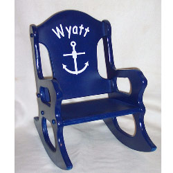 monogrammed toddler chair walgreens lift chairs personalized sailor rocking