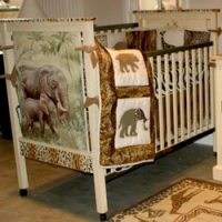 Wildlife Crib Bedding