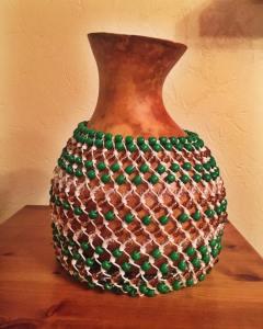 shekere instrument green