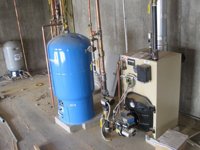 Boiler and Indirect Water Heater Wiring