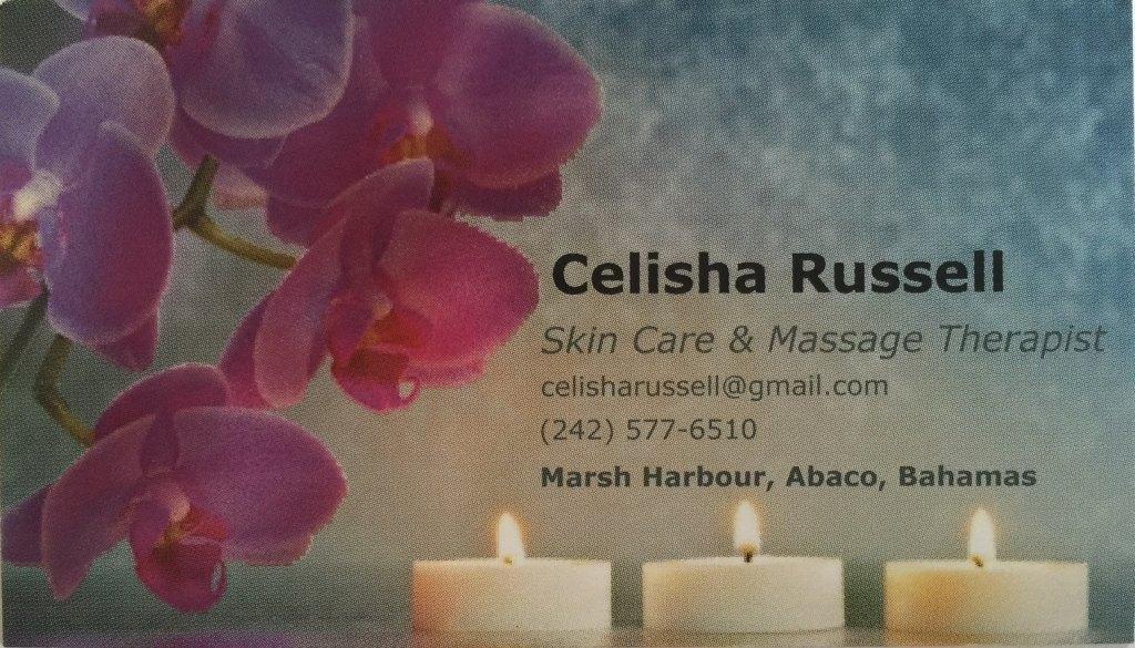 Celisha's Business Card Cropped