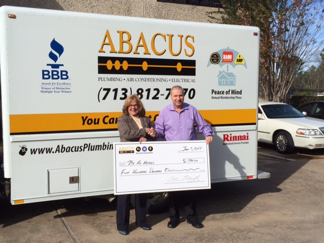 Successful Facebook Contest by Abacus Plumbing Supports