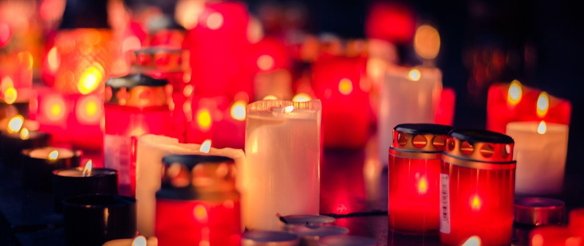 velas de cementerio