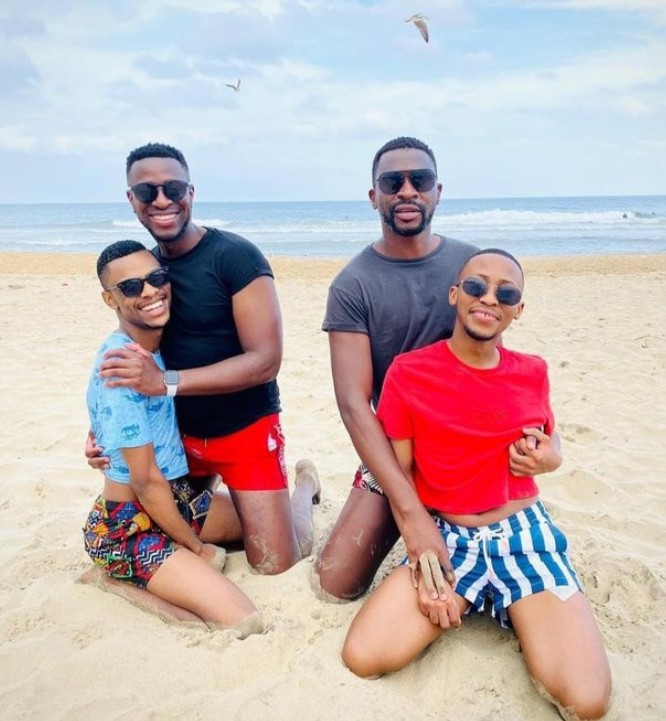 Two Ghanaian Men Flaunt There Gay Lovers At a Beach Date