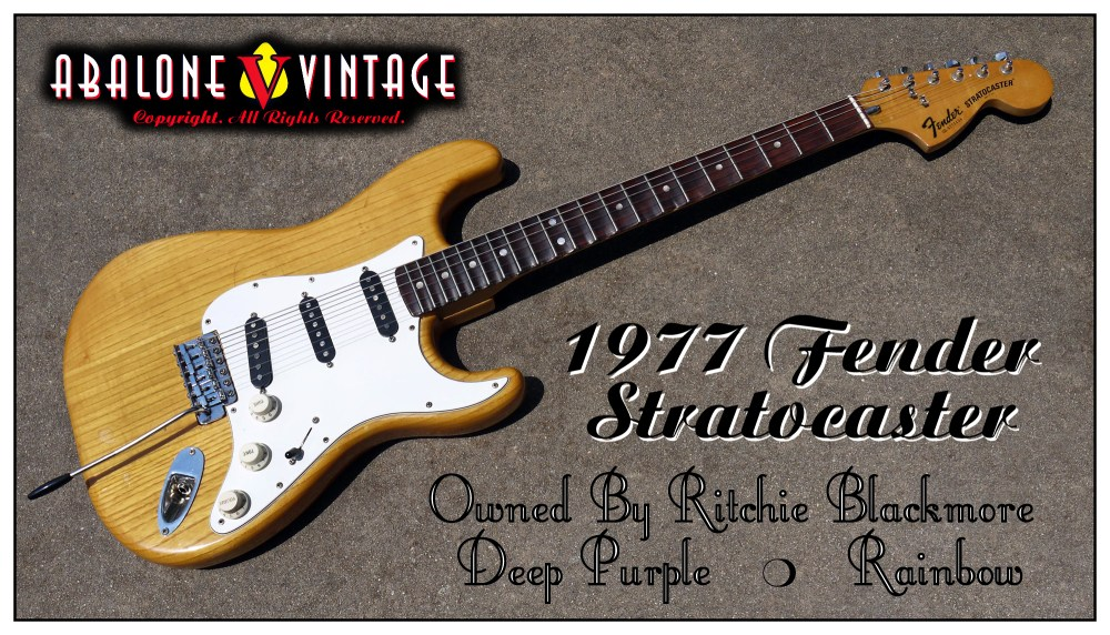 medium resolution of 1977 fender stratocaster owned by ritchie blackmore of deep purple rainbow