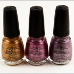 China Glaze : Crackle Metals