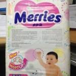 Review: Merries Diapers