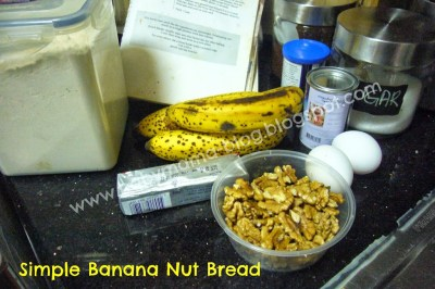 Banana Nut Bread_Ingredients
