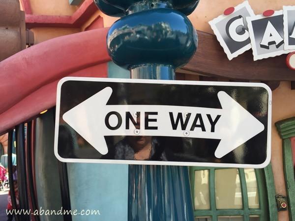 abandme_disneyland park_one way