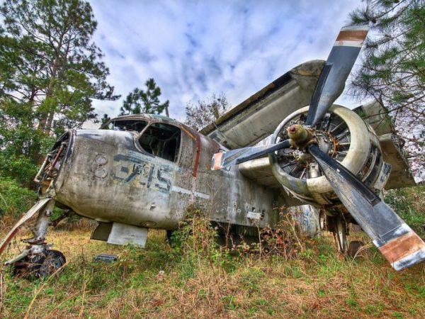 Grumman S-2 Tracker Boneyard