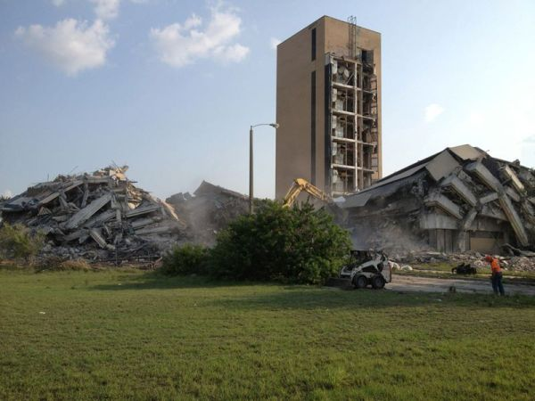 Photo Credit: Bluestreak, 2012 - The building was demolished in May to make room for a new apartment complex.