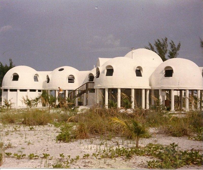 Cape Romano Dome House - Photo from Coastal Breeze News
