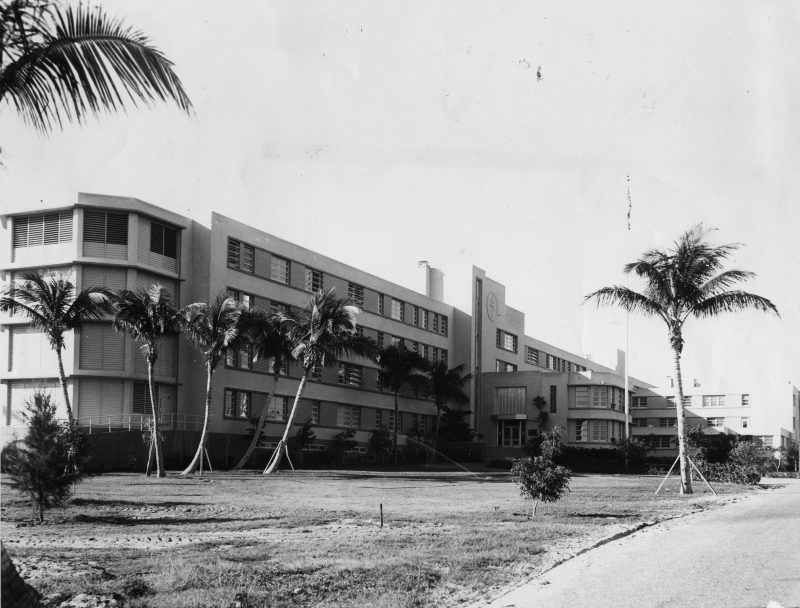 Photo Credit: Sam Quincy; Palm Beach Post, 1951 - The Southeast Florida Sanatorium, as it was known as in the 1950s when it first opened.