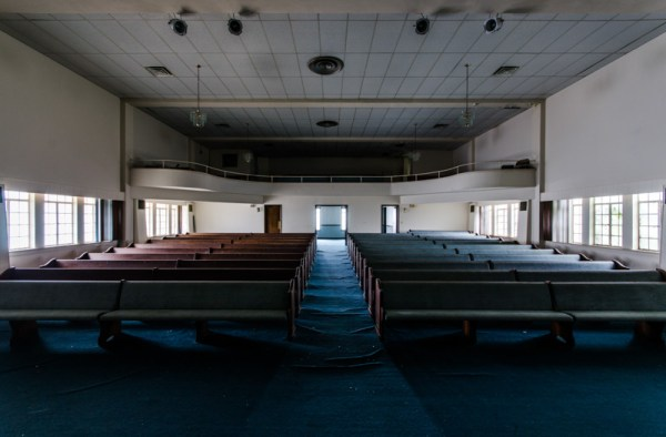 Central Christian Church Abandoned Florida