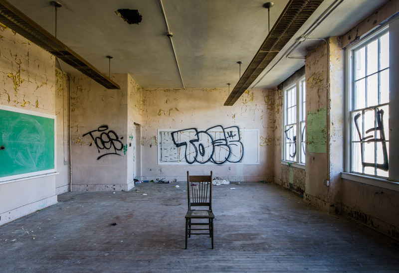 Old Melbourne High School | Photo © 2015 Bullet, www.abandonedfl.com