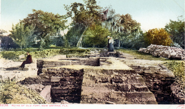 Turnbull Ruins - Photo by the State Archives of Florida; Florida Memory, 1904