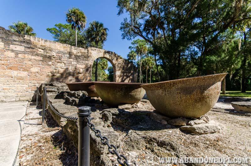 New Symrna Old Sugar Mill Ruins Abandoned Florida
