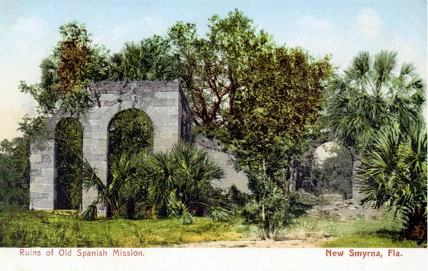 New Smyrna Old Sugar Mill Ruins