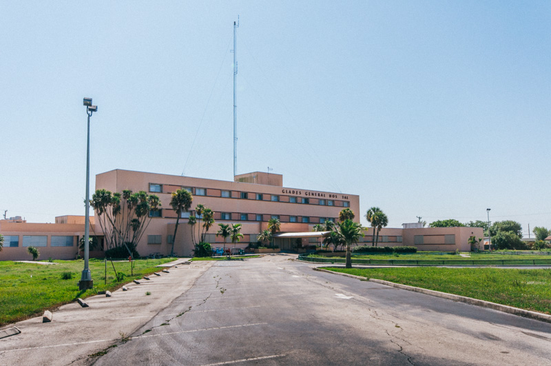 Glades General Hospital | Photo © 2011 Bullet, www.abandonedfl.com
