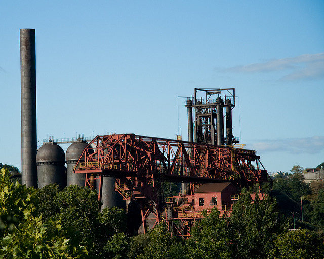 The Carrie Furnaces: Inside and around the last surviving