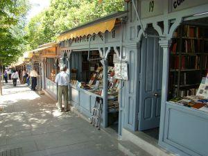 La Cuesta de Moyano es uno de los principales mercados de libros de segunda mano de Madrid. Imagen cedida por Nicolás Pérez.