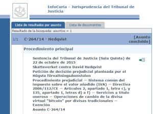 Sentencia TJUE Asunto C-264/14