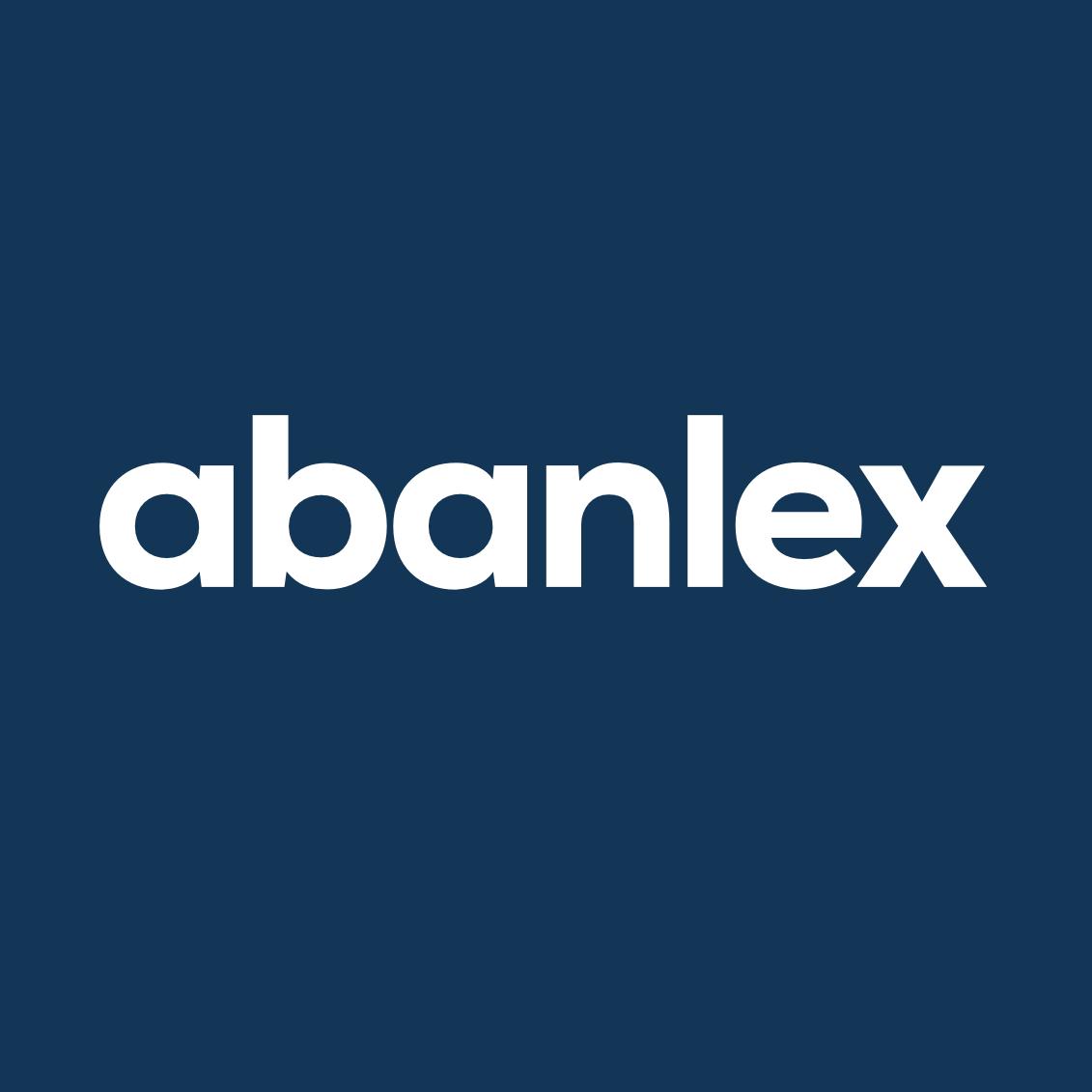 3.- Abanlex blanco – fondo azul