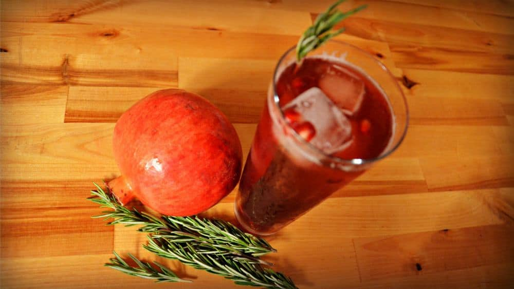 The Pomegranate Standby Cocktail