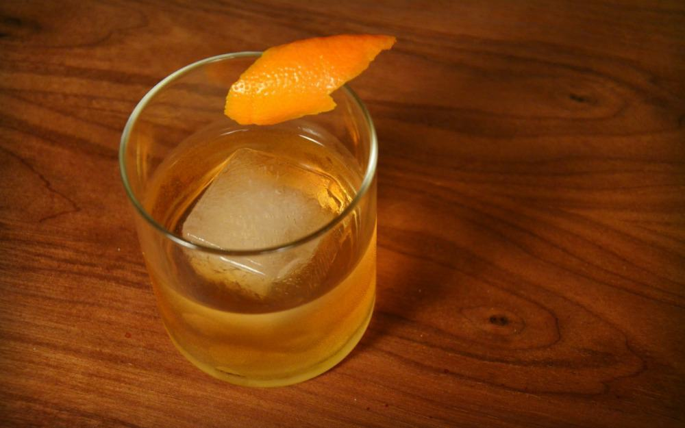 P2 - Becherovka Old Fashioned
