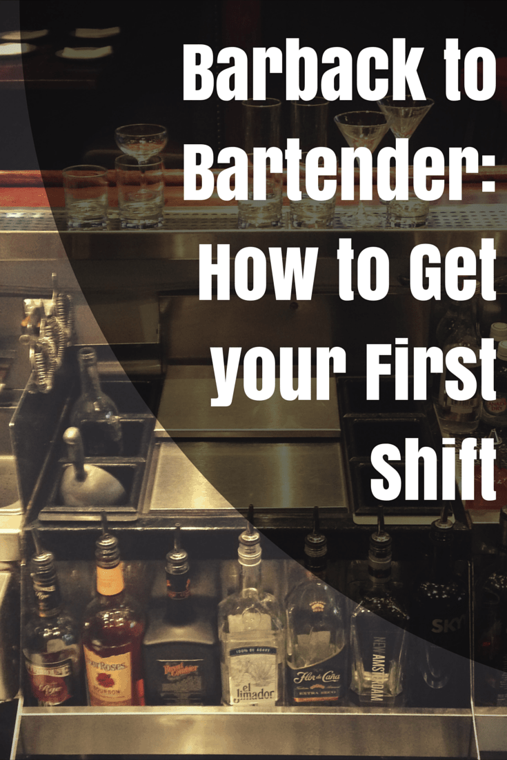 Barback to Bartender- How to do it