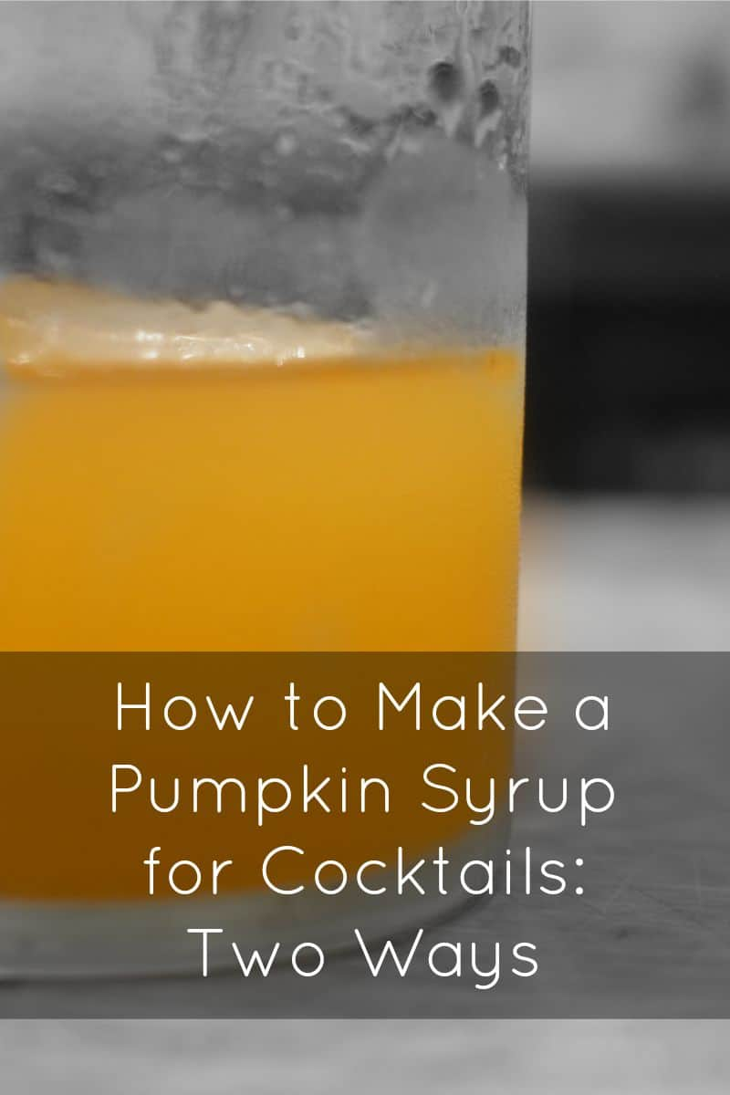 PI - Pumpkin in Cocktails