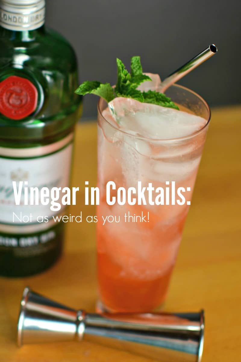 Vinegar in Cocktails
