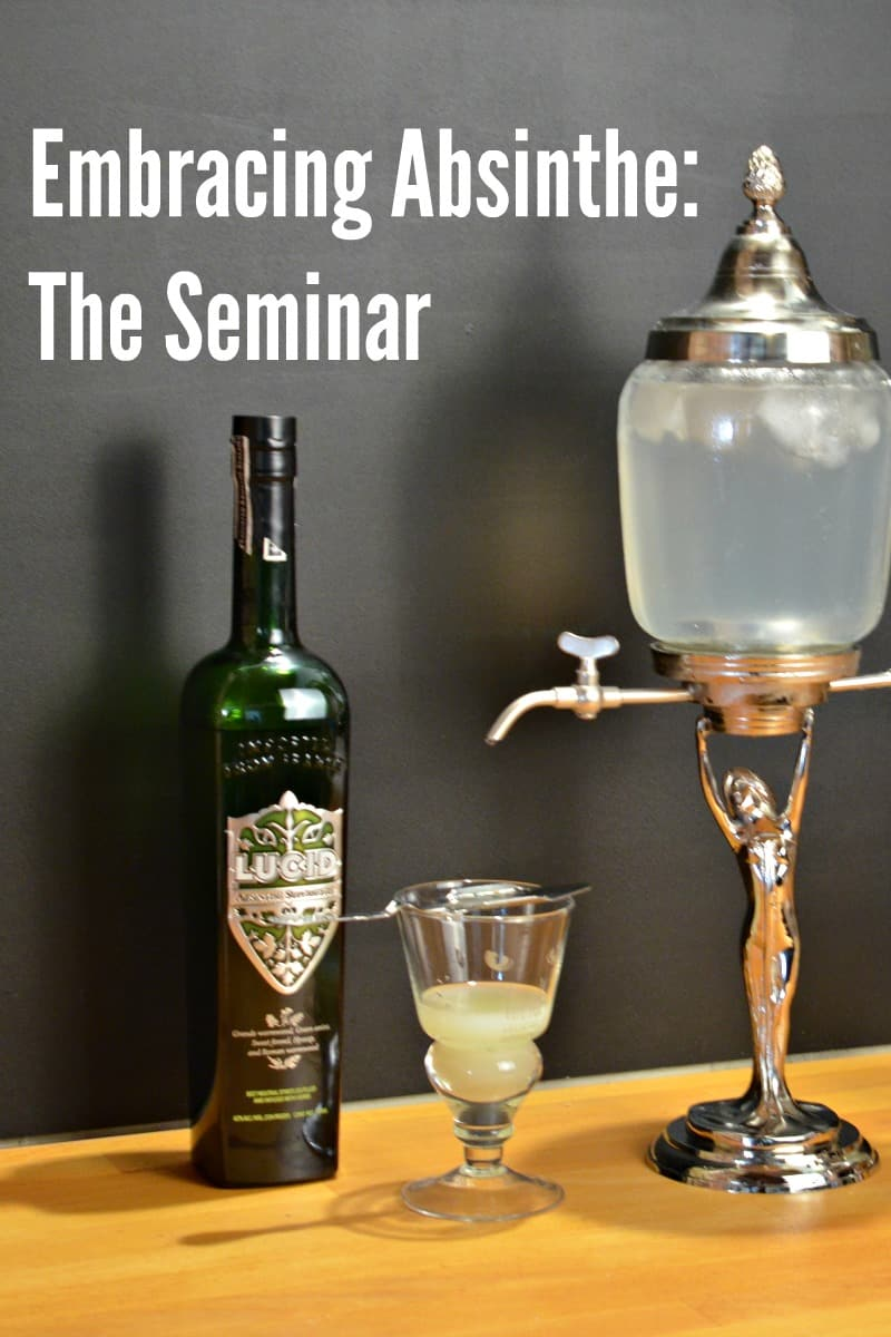 Announcing the Embracing Absinthe Seminar