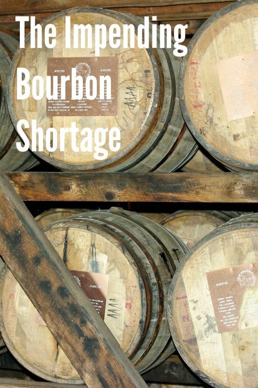 The Impending Bourbon Shortage The bourbon shortage - rumor or reality? Should you stockpile bourbon?