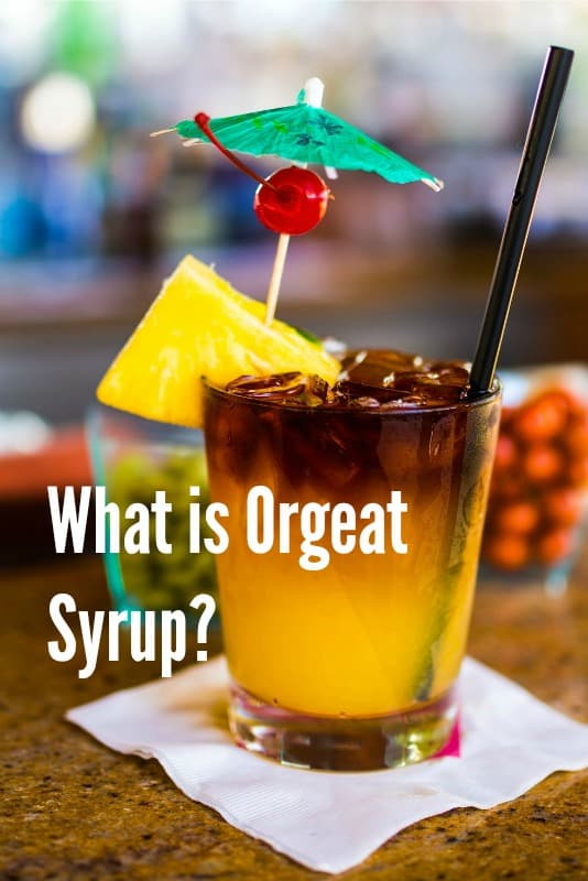 More than a Mai Tai: What is Orgeat Syrup?