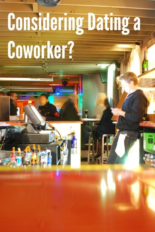 Things to Consider Before Dating a Co-Worker Behind the Bar