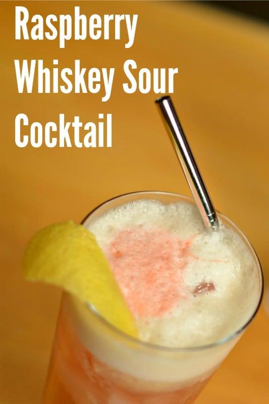 """""""pi-raspberry-whiskey-sour"""