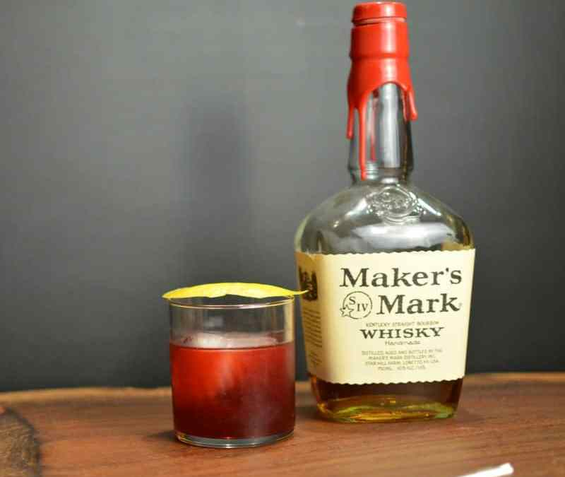 Blackberry and Cinnamon Old Fashioned